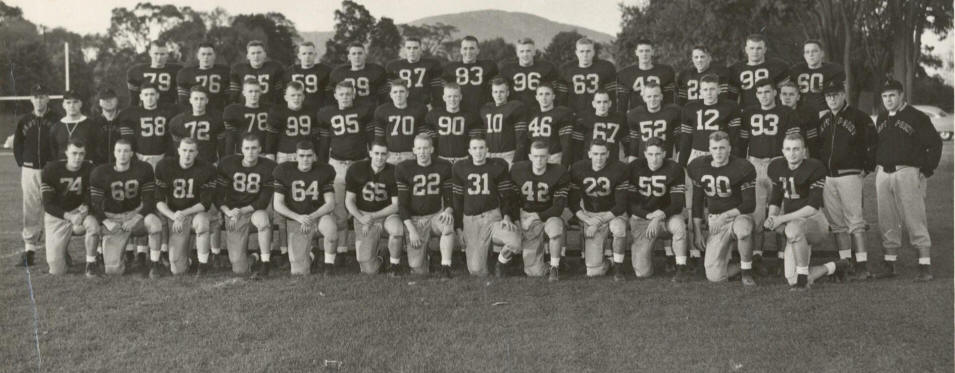 1956 Plebe Football Team