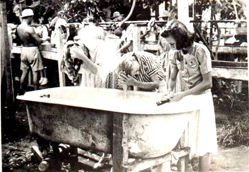 Women in WW2 Japanese POW Camp