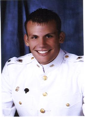 Zac Miller In The United States Military Academy Dress White Uniform